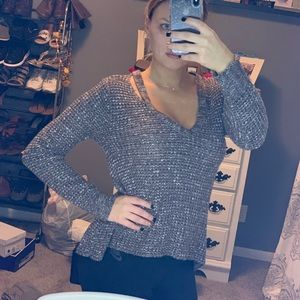 AE cut out sweater